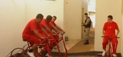 在這間監獄裡,這些囚犯只要騎腳踏車就可以減刑了。你知道原因後會覺得超天才的!