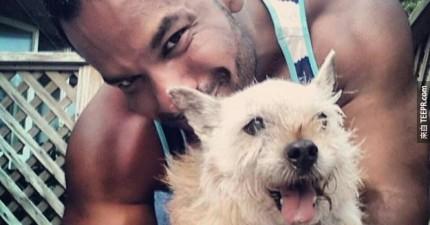 他的狗狗只剩幾個月可活了,因此他決定用最棒的方式跟他道別。