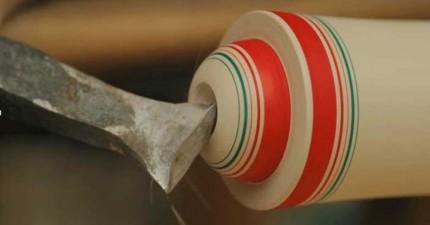 這個日本400年的傳統手工藝看起來很簡單,但製作過程真的好精彩!