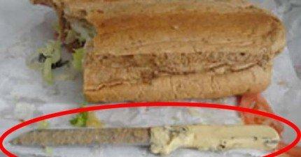 10個有史以來在食物中找到最噁心的東西。什麼!你說什麼東西裡面發現蟾蜍?