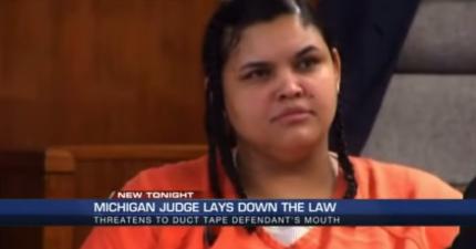 女殺人犯冷血輕挑的態度讓法官發飄,說出法院史上最毒咒罵!
