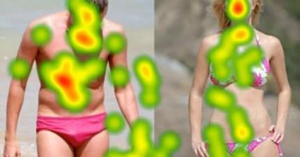 29張眼球追蹤圖揭露人們的眼睛到底都愛看什麼 看史嘉蕾·喬韓森時都在看這
