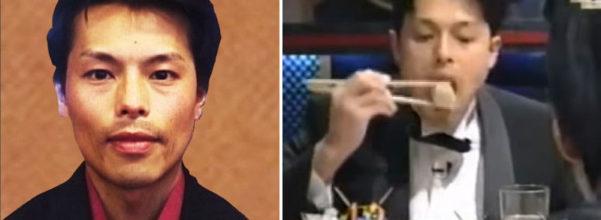 日本大胃王始祖曾經最高紀錄「一次吃下6公斤」 18年後「脫掉衣服」的照片讓人羨慕到不行!