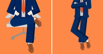 從「6種腳的姿勢」看穿對方心裡在想什麼!看腳的方向讓你秒讀對方心思!