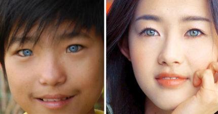 想要藍眼睛不是夢!只要20秒,亞洲人瞬間從黑眼變成「藍眼睛」變了就真的回不去了!