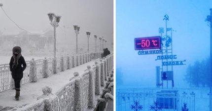 戰鬥民族從小就硬派!俄羅斯孩童「零下50℃」照樣上課...停課標準讓網崩潰