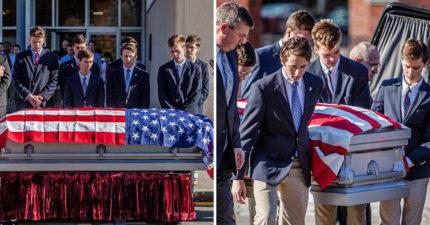 為國捐軀但死時沒人管!無依無靠「退伍老兵」死在街頭,高中生搶當家人舉辦「有尊嚴葬禮」致敬