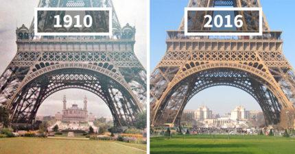30張看到時間會改變一切的歐洲各地「過去VS現在」比對照!