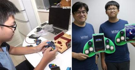 寫程式也自己來!國三學生研發「全世界最小遊戲機」連樂高都求合作,各國瘋搶「授權金上億」!