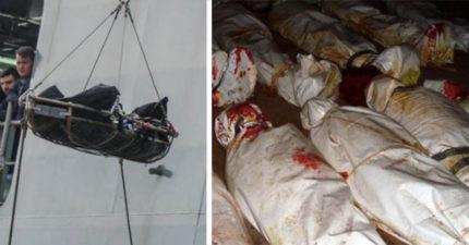 海上驚現「26具少女屍體」最小14歲!救援人員看到她們的內褲後都紅了眼眶...