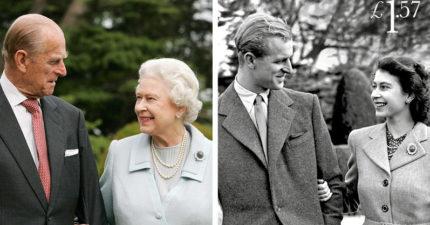 知情人爆料:伊麗莎白女王和菲利普親王慶祝70年「白金婚」,已經知道走到「生命盡頭」開始交接了