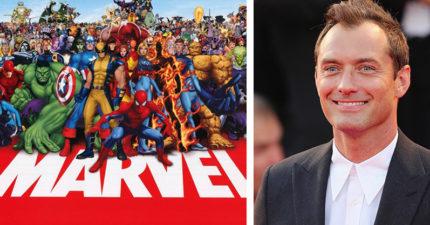 裘德洛將成為漫威最新超級英雄,可望看到第二對福爾摩斯&華生合體!