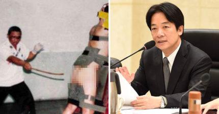 台灣人太珍貴酒駕不能鞭刑!「實施鞭刑」附議通過,賴清德:台灣是重人權國家!