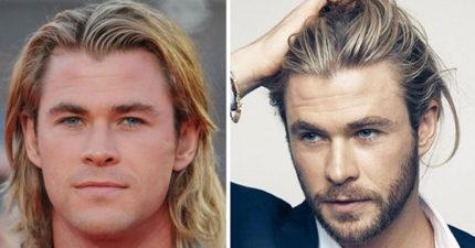 36張證明差一點差很大的「有鬍子+50分的」好萊塢男星對比照!
