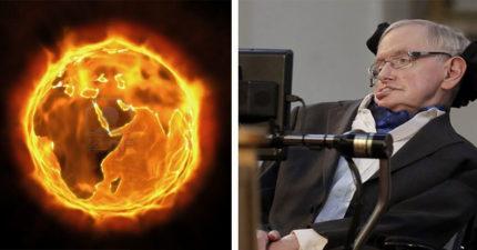 霍金博士預言:600年後地球將會毀滅「變成一團火球」,人類最好移居到南門二星系!