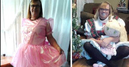 48歲爸爸為了「變成6歲小女孩」離開老婆+7個小孩,大女兒「超惡毒對應」讓她自殺 (影片)