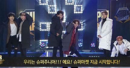 實現公約!Super Junior挑戰「電視購物直播」賣羽絨衣,1小時吸金「25億」搶購一空! (影片)