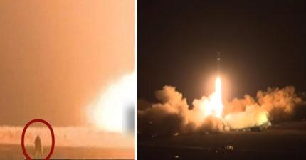 北韓飛彈試射發生悲劇!軍人慘遭火焰吞噬「幹部嚇壞」,金正恩卻笑了...(影片)