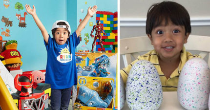 小男孩年僅6歲就「年賺3億」,登上富比世榜單!
