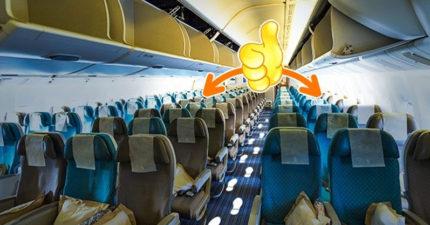 7個即使VIP乘客也不一定知道的「理想飛行旅途小訣竅」,專家:坐最後一排最好