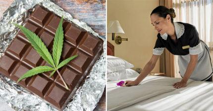 3名房務員開心吃「客人留下的巧克力」,才咬3口「超強後勁啟動」嗨到直接躺進醫院!