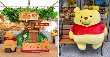 征服全球少女❤東京車站「小熊維尼限定店」,「超大維尼」讓錢包跟手機記憶體全都乾了!