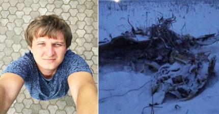 俄羅斯通靈男「墜機死」!死前幾天曾看見自己死亡畫面,女友:但他解讀錯誤