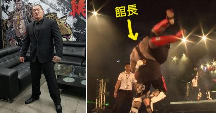 謎樣的過去起底!館長曾是海陸出身,搏擊散打「不敗記錄」只花40秒KO台灣最強特種!