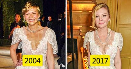 禮服只能穿一次?10位「穿舊衣超美」女星 綺拉奈特莉太仙♥