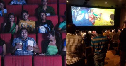 在印度看電影買票「有規則」 放片前所有人都要先「站起來大聲唱」!