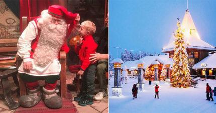 聖誕節過後發現「聖誕老公公真的有辦公室」 芬蘭公開聖誕老人村莊...麋鹿真的在路邊Stand by!