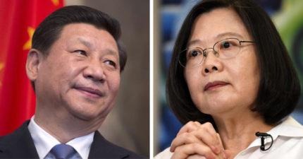 美國超挺!看到習近平「強調一個中國」 蔡英文只能勇敢...白宮:最好和平談話