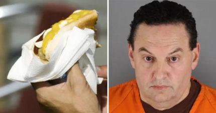 通緝哥「吃熱狗」看球賽 前腳才離開卻讓警察抓到「26年前案件鐵證」