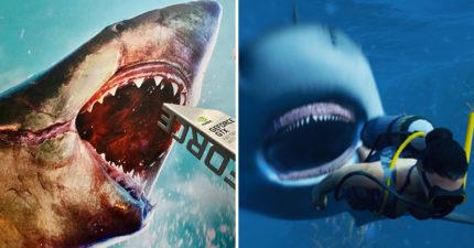 超獵奇《食人鯊》遊戲!玩家變成「海中霸主」捕獵 吃越多「美味人類」分數越高