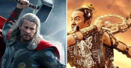 復聯英雄如果變「中國神話版」會長怎樣?網看到「美國隊長」對應角色笑翻:阿彌陀佛