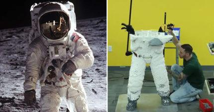 影/樂高神人打造「阿波羅模型」慶祝登月50週年 太空人「1:1神還原」近看更驚人!