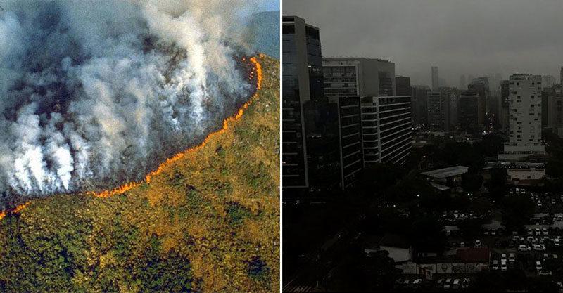 亞馬遜森林「超過7萬起大火」NASA也關注!燒到整座聖保羅「白天變黑夜」專家曝可怕真相