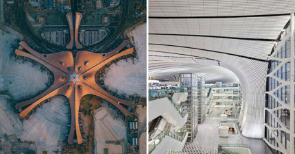 北京建造「世界最大機場」將容納1億旅客 超浮誇「氣勢空拍圖」震懾外媒!