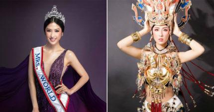全球首位贏得「世界夫人」的越南人 驚人美貌「打趴國際」還是高材生學霸!