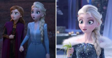 網友覺得「艾莎髮型」根本不適合她!親自換髮「比原本正10倍」完勝迪士尼