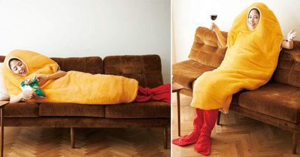 日推出超Q「天婦羅睡袋」蝦身尾可拆 麵衣不只看起來美味...材質還超保暖!