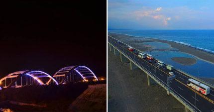 民眾票選「台灣最美」10大景觀公路 台61線「西濱快速道路」包辦前二!