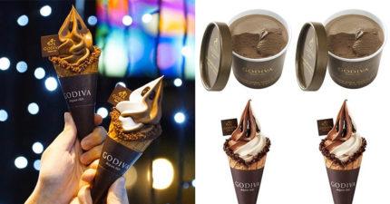 台灣GODIVA祭出超猛優惠!限時兩天「冰淇淋買一送一」不怕冷的人必吃