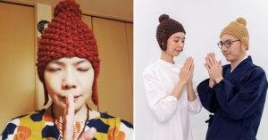 最虔誠「佛祖針織帽」熱賣到不行 日妞搶瘋「過年新色」這樣戴超好看!