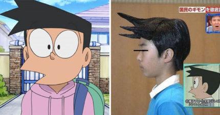 日本節目還原「小夫髮型」側面完美複製 下秒轉到正面…全場傻眼:是甲蟲?