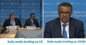 WHO反對「各國全面抗疫」太緊張 譚德塞:中國以外只有少數感染!
