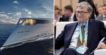 比爾蓋茲砸190億買「超環保遊艇」搬離陸地 計畫性躲世界末日?