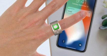 蘋果研發比Apple Watch更好用「智慧戒指」 輕輕「旋轉手指」就可下指令
