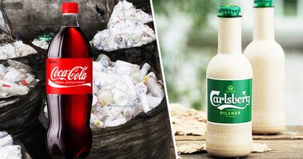 可口可樂X嘉士伯推「能救地球的塑膠瓶」 網擔憂:沒喝完就分解