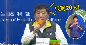 台灣連續42天+0 陳時中報喜:確診患者將「全部出院」!